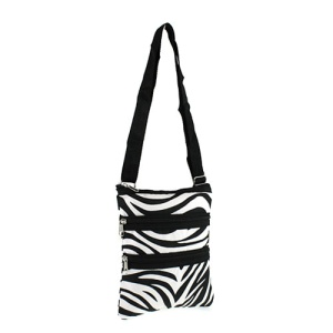 yh 003 163 messenger bag zebra black