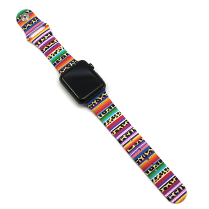 Watch Band 128b 08 42mm 44mm watch band serape leopard