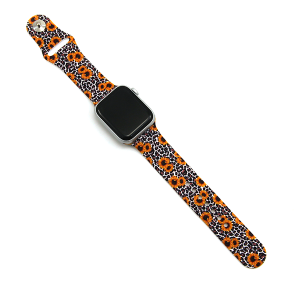 Watch Band 163a 08 38mm 40mm watch band serape sunflower leopard
