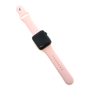 Watch Band 031 08 silicon rubber 38mm 40mm light pink