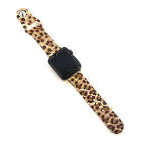 Watch Band 018a 08 silicon rubber 38mm 40mm leopard