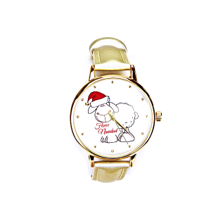 Christmas watch 099 08 fleece navidad sheep