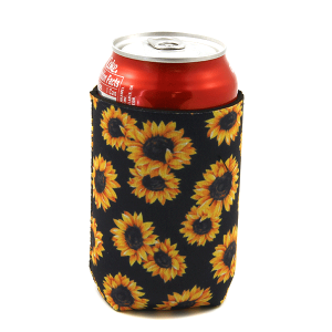 Drink Sleeve 133a 12 Tipi sunflower black