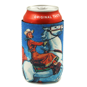 Drink Sleeve 085 12 Tipi cowgirl horse