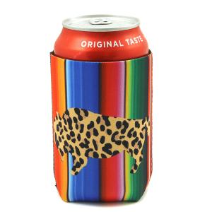 Drink Sleeve 064a 12 Tipi leopard buffalo serape
