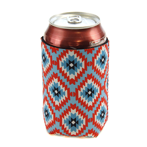 Drink Sleeve 052 12 Tipi geometric blue
