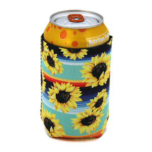 Drink Sleeve 058a 12 Tipi serape sunflower