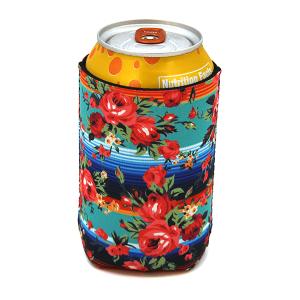Drink Sleeve 049b 12 Tip floral serape