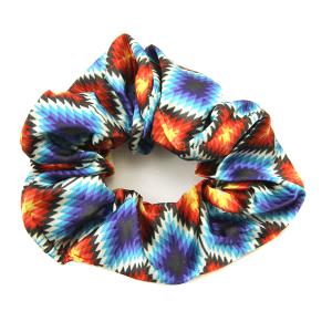 Hair Tie 292 12 Tipi diamond geometric scrunchie