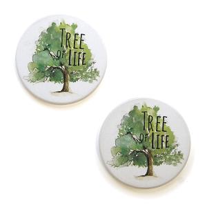 Car Coaster 048 12 Tipi Tree of Life