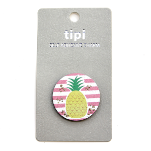 Phone Charm 036 Sticker 12 Tipi pineapple
