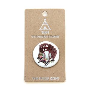 Phone Charm 059 12 Tipi phone charm sticker adhesive baseball mom