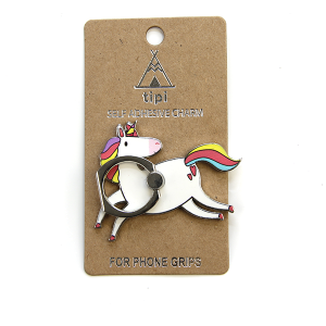Phone Charm 054 12 Tipi Phone Stand Ring unicorn
