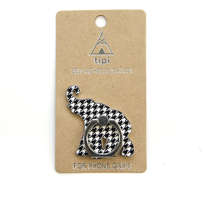 Phone Charm 074a 12 Tipi Phone Stand Ring elephant