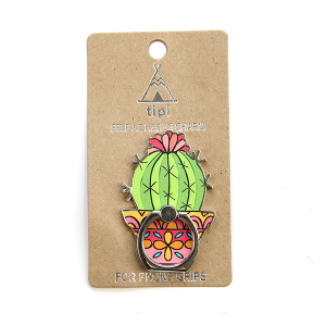 Phone Charm 063a 12 Tipi Phone Stand Ring cactus