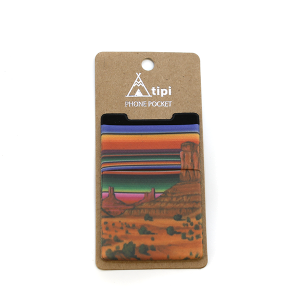 Phone Pocket 021 12 Tipi Serape Desert
