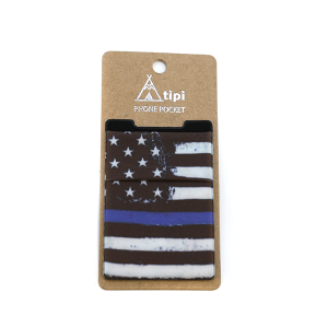 Phone Pocket 023 12 Tipi Thin Blue Line