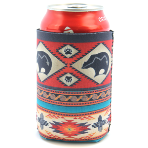 Drink Sleeve 004 12 Tipi bear pattern