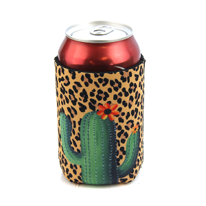 Drink Sleeve 006a 12 Tipi cactus leopard