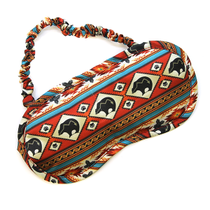 Sleep Mask 009 Geometric Bear
