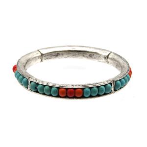 Bracelet 450a 17 Hippie navajo bead bracelet turquoise coral