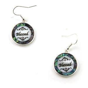 Earring 3448 17 Jolli Molli abalone earrings blessed