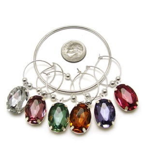 wine charm 069a 20 Hope crystal multi