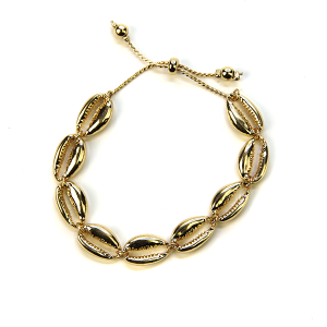 Bracelet 138a 21 Dorothy seashell bracelet gold