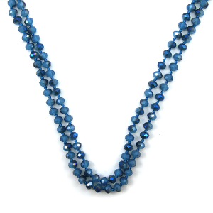 Necklace 1637a 22 No. 3 30 60 inch bead necklace bl313ab