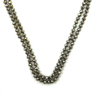 Necklace 1552c 22 No. 3 30 60 inch bead necklace br274ab