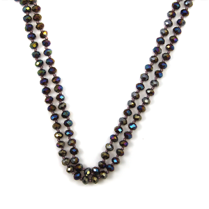 Necklace 1580a 22 No. 3 30 60 inch bead necklace pu18ab