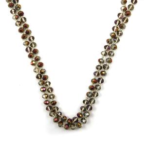 Necklace 1495 22 No. 3 30 60 inch bead necklace bd253ab