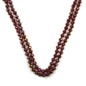 Necklace 1643a 22 No. 3 30 60 inch bead necklace bu