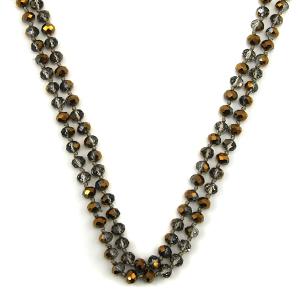 Necklace 849a 22 No. 3 30 60 inch bead necklace bz100