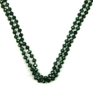 Necklace 693b 22 No. 3 30 60 inch bead necklace gr356ab
