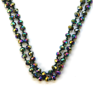 Necklace 800a 22 No. 3 30 60 inch bead necklace mbl95