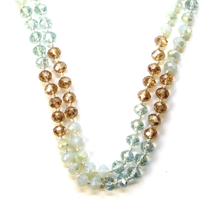 Necklace 762a 22 No. 3 30 60 inch bead necklace mt87