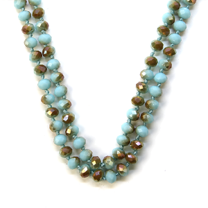 Necklace 771a 22 No. 3 30 60 inch bead necklace tq111