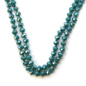 Necklace 789f 22 No. 3 30 60 inch bead necklace tq77-1ab