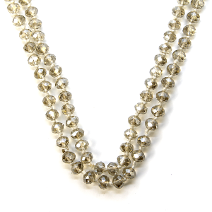 Necklace 774b 22 No. 3 30 60 inch bead necklace tz256ab