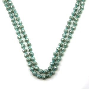 Necklace 743d 22 No. 3 30 60 inch bead necklace bl293ab