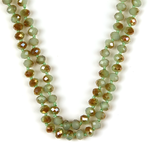Necklace 411a 22 No. 3 30-60 inch bead necklace mn244ab