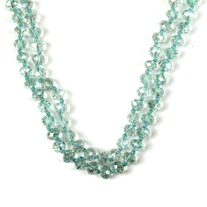 Necklace 414a 22 No. 3 30-60 inch bead necklace mn335ab