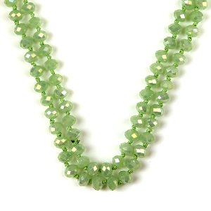 Necklace 2076 22 No. 3 30-60 inch bead necklace mn383ab