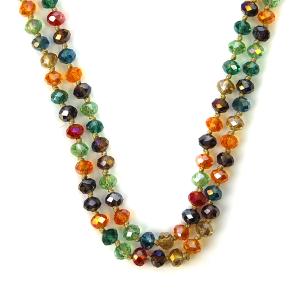 Necklace 1454 22 No. 3 30 60 inch bead necklace mt16