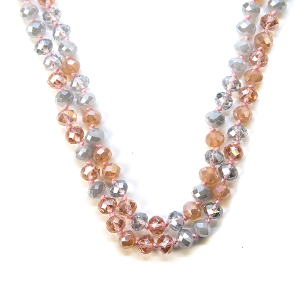 Necklace 768b 22 No. 3 30 60 inch bead necklace mt19
