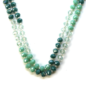 Necklace 715d 22 No. 3 30 60 inch bead necklace mt86