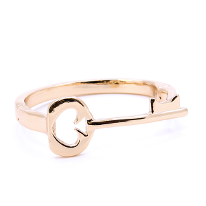(Bracelet 729m 33 Lucky You) Key Spade magnetic bangle gold