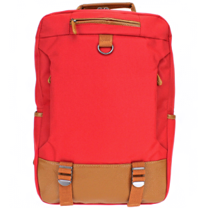 luggage 3463 urban canvas backpack red