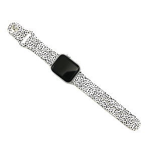 Watch Band 061d 08 cow print watch band white 38mm 40mm